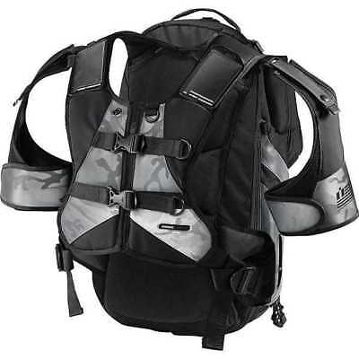 Icon Squad II 2 Motorcyle Backpack Bag-Black