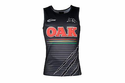 Classic Sportswear Mens Penrith Pants Bottomshers 2018 NRL Players Rugby Singlet