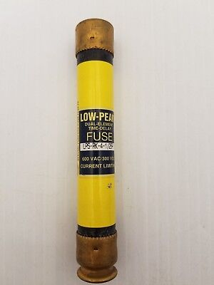 Bussman Low-Peak Lps-Rk-4-1/2-Sp Fuse 4 1/2 Amp 600 Volt Dual-Element Time-Delay