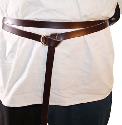 LARP-Medieval-Re-enactment-Viking-WRAP AROUND GARTER RING TIE BELT 20mm Width