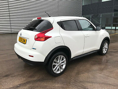 2011 Nisan Juke Acenta Sport 1.5 Dci White**privacy Glass*top Of The Range Model