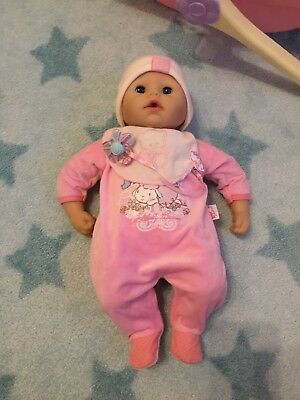 Baby Annabell  / Puppe 43cm mit Funktion Zapf Creation Babypuppe