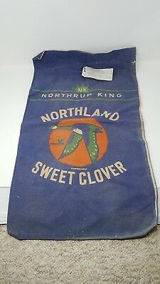 Northrup King Northland Sweet Clover Seed Sack With Tag!