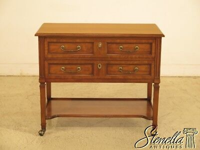 42985EC: KINDEL Cherry Regency Design Server Cart