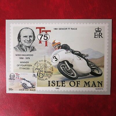 Isle of Man  Motorsport Mike Hailwood 1982