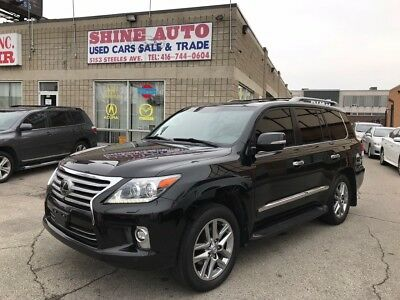 Lexus: LX LX570 ULTRA PREMIUM 2014 LEXUS LX 570 ULTRA PREMIUM-ACCIDENT FREE-FULLY LOADED