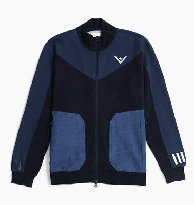 adidas Originals x White Mountaineering Sweat Zip Up Sizes S-XL Navy RRP £110