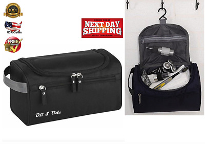 4739569daa02 Hanging Toiletry Bag Travel Toiletry Kit Toiletries cosmetics Water  Resistant BK