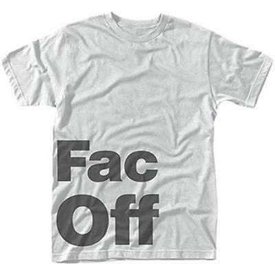 Factory Records - FAC Off White Mens Short Sleeve T-Shirt - New & Official
