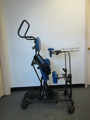 """Pediatric Easystand Magician Standing Frame Wheelchair ,Up To 100 Lbs, 4' 6""""."""