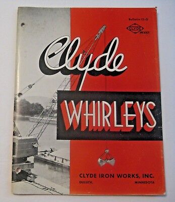 Vintage U.s. Steel Clyde Iron Works Duluth Minnesota Advertising Mining Magazine