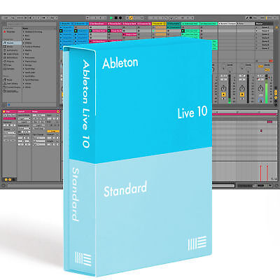 Ableton LIVE 10 STANDARD - Music Production Software, DAW (Download)