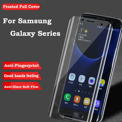 Genuine Full Cover Tempered Glass Screen Protector For Samsung S6/S7 Edge, S8,S9
