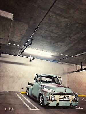 1953 Ford F-100 PATINA 1953 Ford F100 PATINA 2500 Miles Seafoam with rust highlig Pickup Truck 302 HO F