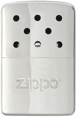 "Zippo ""Hand Warmer"",Chrome Finish, Up to 6 Hours, 40321"