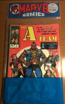 Three 1984 A-team 1st Collectors Item Issue Comic Books New Mint Condition