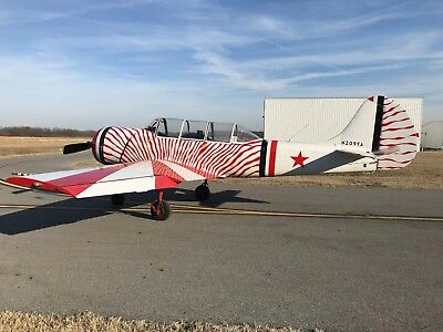 1987 YAK-52 Heavy Spar just 1045 hours!