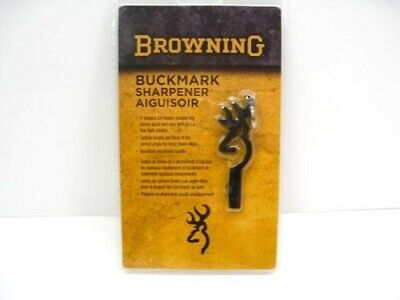 BROWNING Carbide Steel Knife Sharpener BUCKMARK KEYCHAIN Sharpening Tool! 0010
