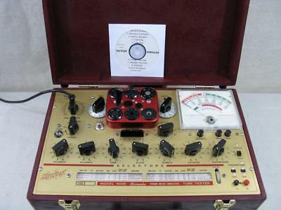 Hickok 6000 Mutual Conductance Tube Tester - Calibrated - Voltages Near Perfect*