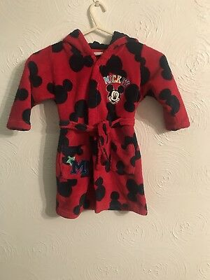 Boys Dressing Gown 18-24 Months *DISNEY STORE*