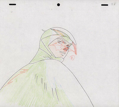 Gatchaman Battle of the Planets Anime Douga for Cel Ken the Eagle G1 Tatsunoko