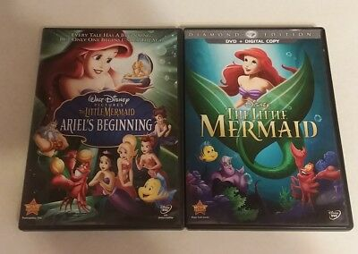 The Little Mermaid Ariel's beginning & The Little Mermaid (DVD)