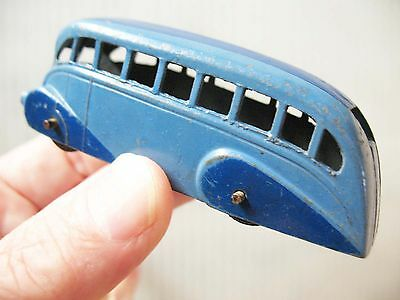 Dinky Toys No.29b Streamlined Bus  Early post-war 1946  Good condition