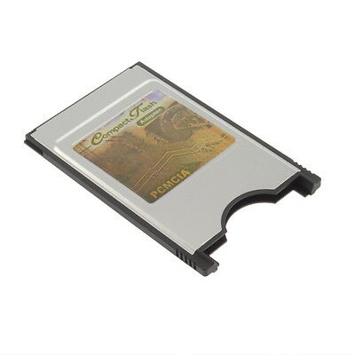 CF Compact Flash Card Reader Adapter Converter to PC Laptop PCMCIA GA