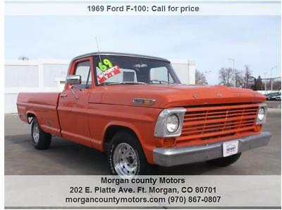 1969 Ford F-100  1969