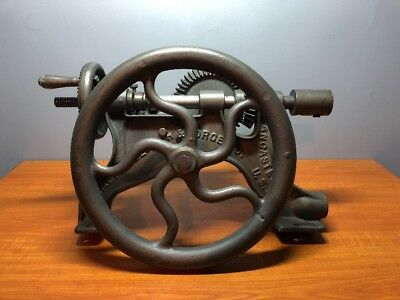 Antique/Vintage Champion Blower & Forge Lancaster Pa. Hand Drill Press-NICE!!