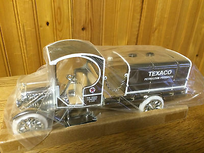 1919 GMC TEXACO TANKER TRUCK, SPECIAL CHROME MILLENNIUM EDITION -- box of 6!!
