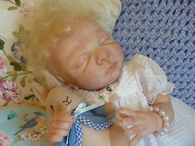 "BEAUTIFUL REBORN ""LITTLE ANGEL""...by Cindy Musgrove ""ROSEBUD"" Preemie baby girl!"