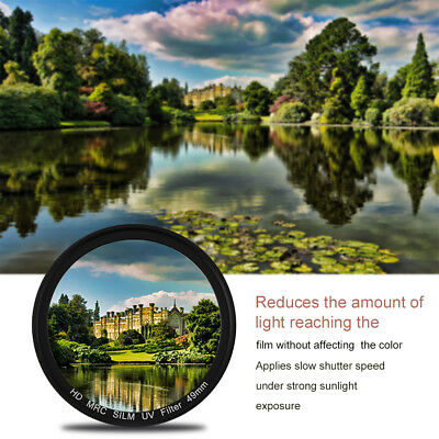 49/52/55/58/62/67/72/77MM Professional UV Lens Filter Camera Lens For Canon BB00