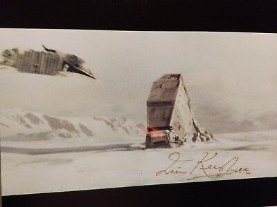 Empire Strikes Back director IRVIN KERSHNER STAR WARS 8X10 BATTLE OF HOTH