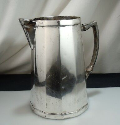 Vintage Albert Pick Hotels Silver Plated Water Pitcher