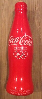 Rare Limited Edition 2010 Olympic Coca Cola Glow Bottle #49908/50000