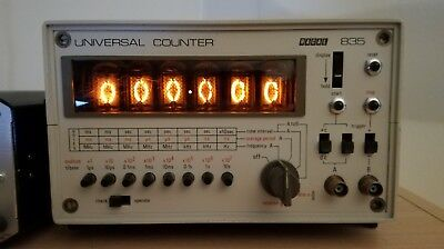 Racal 835 Frequency Counter with Nixie Tubes