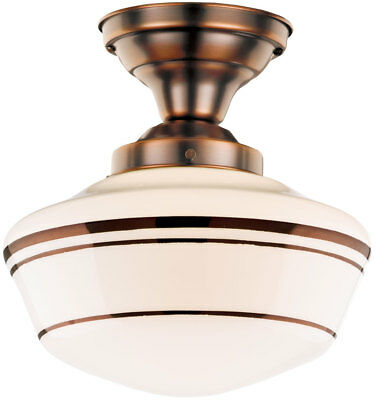 "Rejuvenation Lombard (Jefferson) 4"" Traditional Light Fixture Solid Brass (NEW)"
