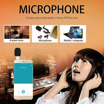 Professional Super Mini R2 3.5mm Voice Recording Microphone For Mobile Phone GT