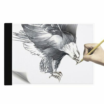 Flicker-free Super Thin Drawing Copy Tracing Stencil Board Table Pad with USB GT