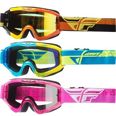 365a86b26bcc Fly Racing Zone Composite Youth Off Road Dirt Bike Racing Motocross Goggles