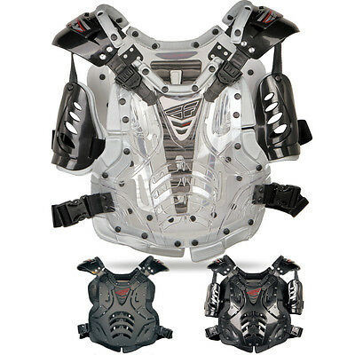 FLY Convertible II Protective Armor Gear Motocross Chest Roost Guards