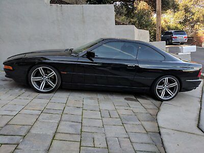 """1997 BMW 8-Series  1997 BMW 840Ci – V8 M62 """"alusil"""" Engine - Black - Immaculate Condition"""