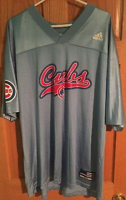 94-96 Vintage Chicago Cubs Kerry Wood Adidas Football Jersey 2XL Rare