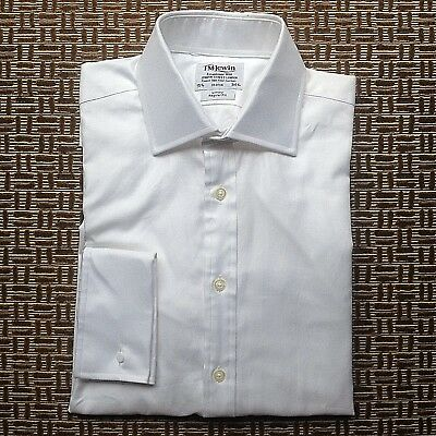 T M Lewin Luxury Regular Fit Mens Shirt Size 39