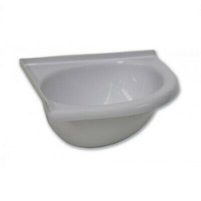 Camec Caravan RV Acrylic Corner En-suite Bathroom Basin Sink