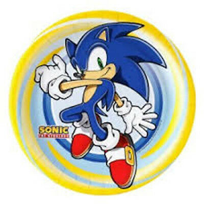 Set Of 12 Sonic The Hedgehog 14X8 Size Cake Bags