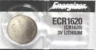1 New ENERGIZER CR1620 Lithium 3v Coin Battery Australia Stock FAST SHIPPING
