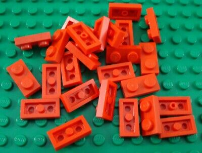 LEGO Lot of 25 Blue 1x2 Flat Building Plate Pieces