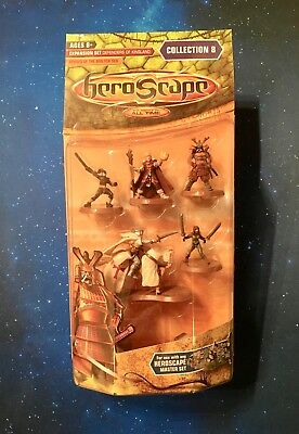 HEROSCAPE Exp Set Defenders of Kinsland HEROES OF THE MOLTEN SEA Collection 8